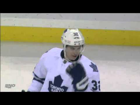Joe Colborne Toronto Maple Leafs 1st Career NHL Goal November 22nd 2011