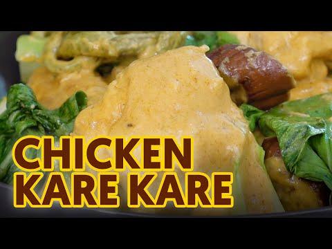 Ginataan Chicken Kare-Kare Recipe