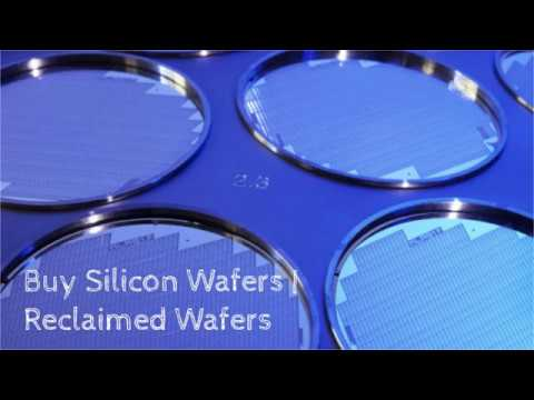 Buy Silicon Wafers   Reclaimed Wafers