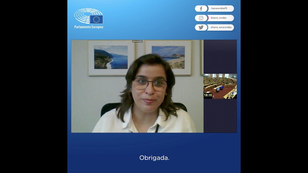 """Sara Cerdas pede à Presidência Eslovena que lidere com ambição as negociações do """"Fit for 55"""""""