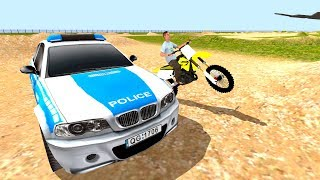 San Andreas Motocross - Gameplay Android free games - Crazy motocross rider