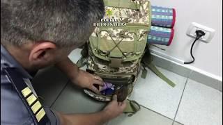 Marijuana găsită în bagaj pe aeroportul Cluj - Romania 31 07 2018