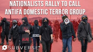 Proud Boys Hold Rally in Portland to Name Antifa Domestic Terror Group | Subverse News