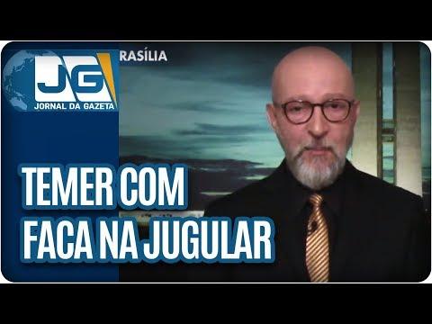 Josias de Souza/Temer vive com uma faca na jugular