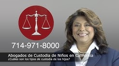 Abogados en California sobre custodia del los hijos - para  Los Angeles y Orange County 714-971-8000