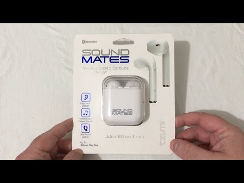 4b5f8af19d3 Sound Mates By TZUMI Unboxing. Apple AirPod Knockoffs. - YouTube
