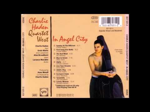 Charlie Haden Quartet West - Blue in green (1988)