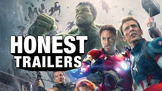Repeat youtube video Honest Trailers - Avengers: Age of Ultron