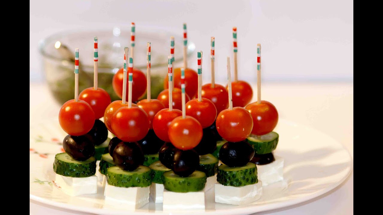 easy canapes canapes ideas greek canap food decoration