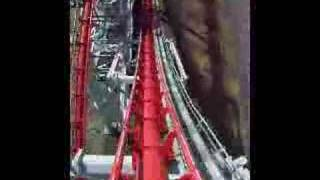 Steel dragon 2000 ride POV 2