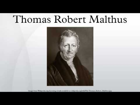 thomas malthus 194 classic readings in economics thomas r malthus (1766-1834) malthus was an english clergyman who thought deeply about economic problems and is best.