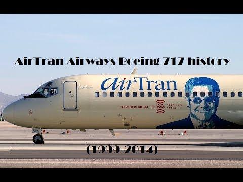 Fleet History - AirTran Airways Boeing 717 (1999-2014)