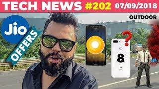 JIO FREE 16GB Data, Mi 8 Youth, PUBG India Championship, Vivo X23, Nokia 6.1, Moto Updates-TTN#202