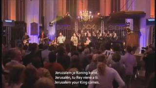 Juich, Hosanna! Shout, Hosanna! ¡Regocijáos! ¡Hosana! Lyrics-Español, English and Dutch