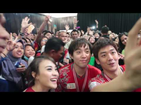 Meet and Greet Lee Yong Dae - Kim Sa Rang