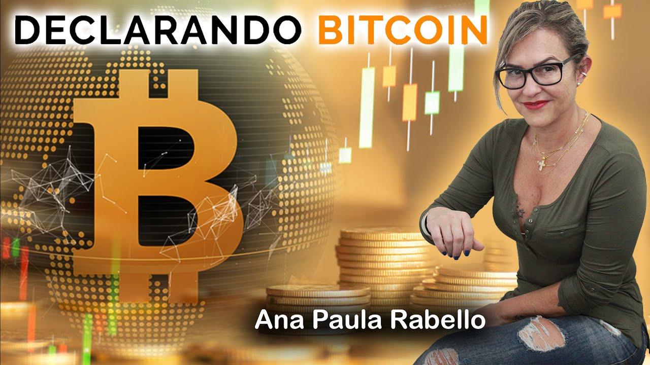 Declarando Bitcoin tem canal no YouTube agora