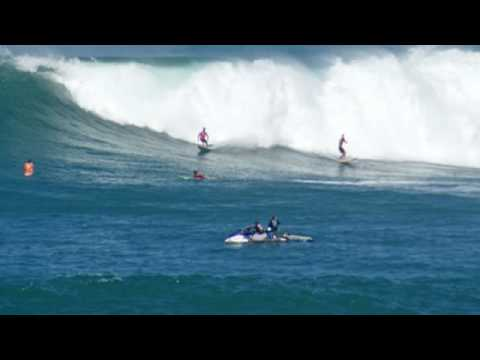 Eddie Aikau 2009 Waimea Bay(Pt.2)-Best of the Biggest