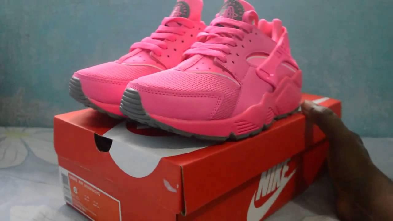 Nike Huarache Womens Pink