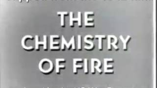 Flash Point Demonstration 1948 Chemistry of Fire US War Department