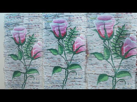 Amazing Idea To using News Paper Curtains At home | Newspaper Crafts ideas | #DIYCRAFTS