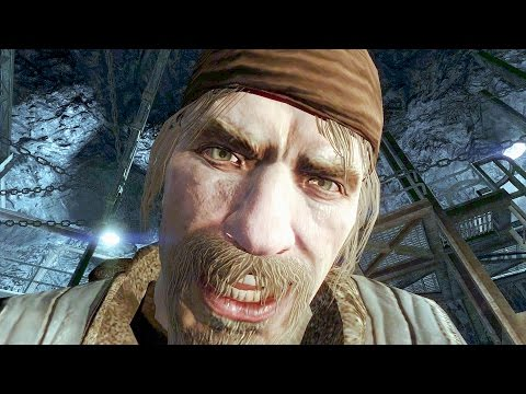 Call of Duty Black Ops Vorkuta Mission Gameplay Veteran