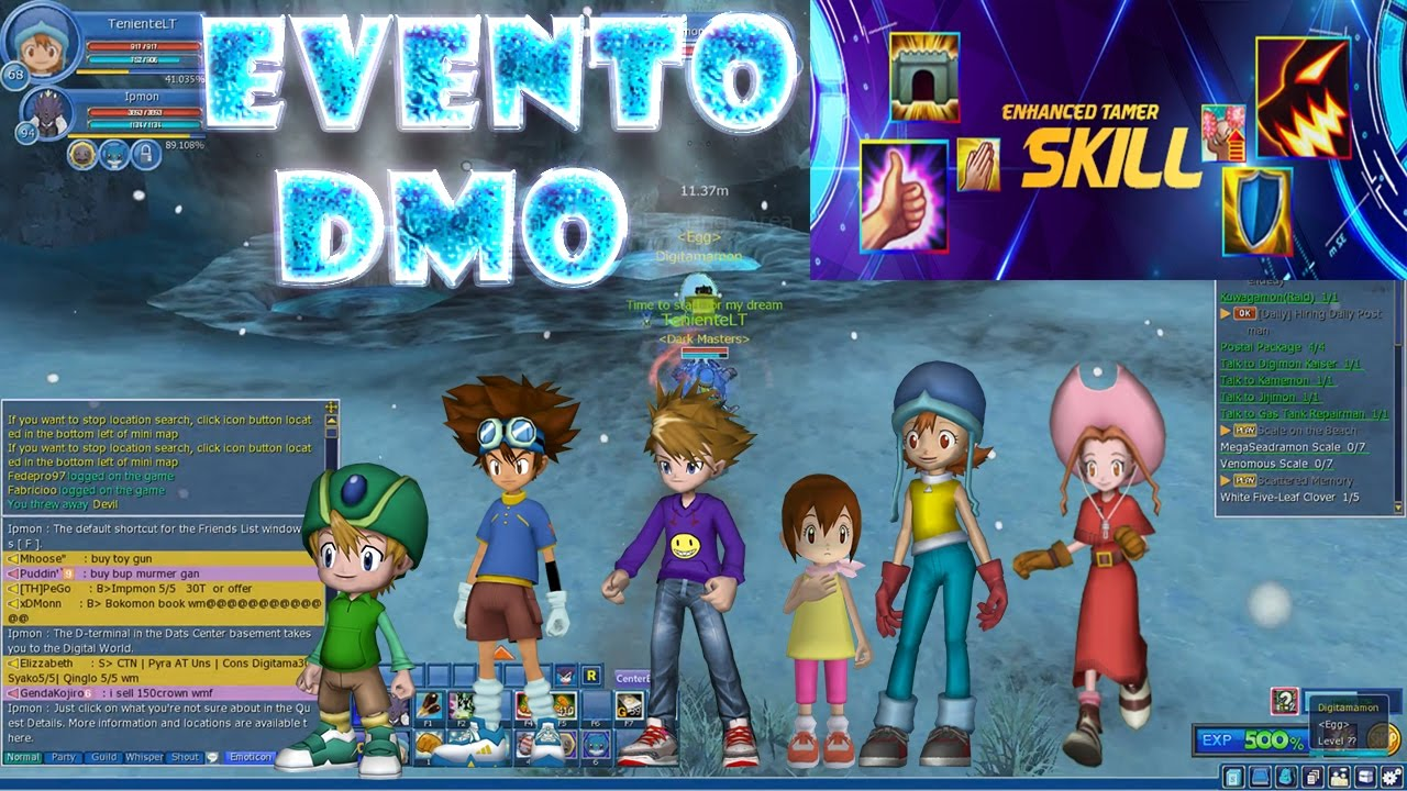 Explicacin nuevo evento skill digimon masters online 2017 youtube explicacin nuevo evento skill digimon masters online 2017 gumiabroncs Gallery