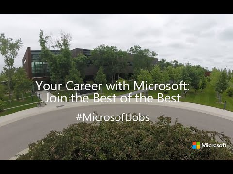 Your Career with Microsoft: Join the Best of the Best