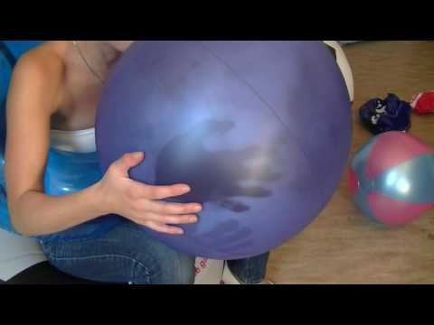 AM 012 Beach ball inflating and popping thumbnail