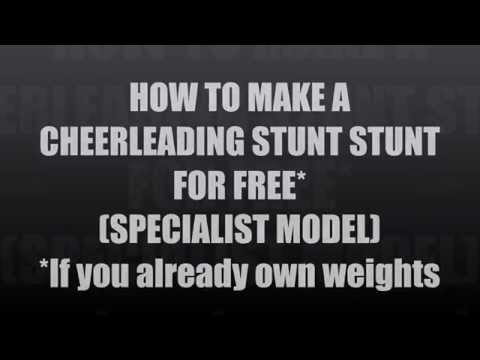 how to build a cheer stunt stand