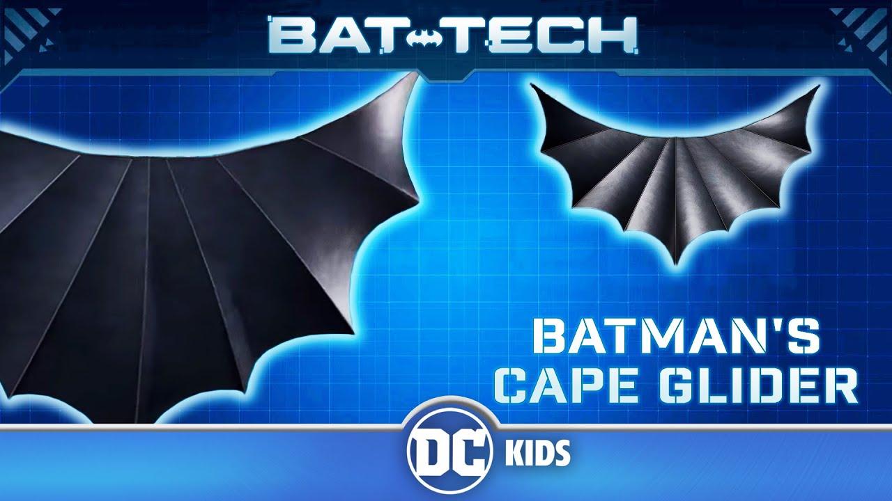 Batcomputer Archives | Batman's Cape Glider | @DC Kids