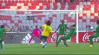 Match 5: Nigeria v Brazil - FIFA U-17 Women's World Cup 2016