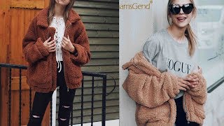 New fashion women jacket winter warm clothing coat sweater Review