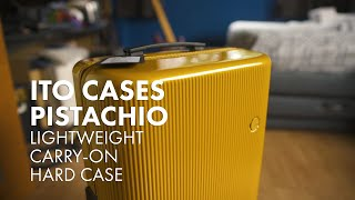 FIRST LOOK - ITO Cases Pistachio [Lightweight Carry-On Hardside Luggage]
