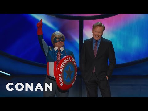 Introducing Captain Make America Great Again  - CONAN on TBS