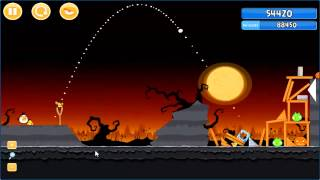 Angry Birds trick or treat 3 Estrellas instancia de parte 2-14