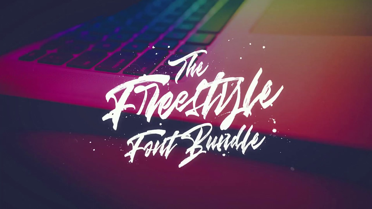 The Freestyle Font Bundle