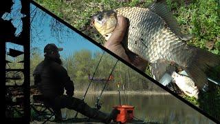 Ловля КАРАСЯ на ФИДЕР ранней ВЕСНОЙ .Рыбалка с берега в марте.#рыбалка #карась #фидер