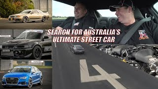 GT-R? Audi? Evo? Barra ? The Search For Australia's Ultimate Street Car - Pt 1