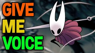 Hollow Knight: Voiceover For All Characters In Process!