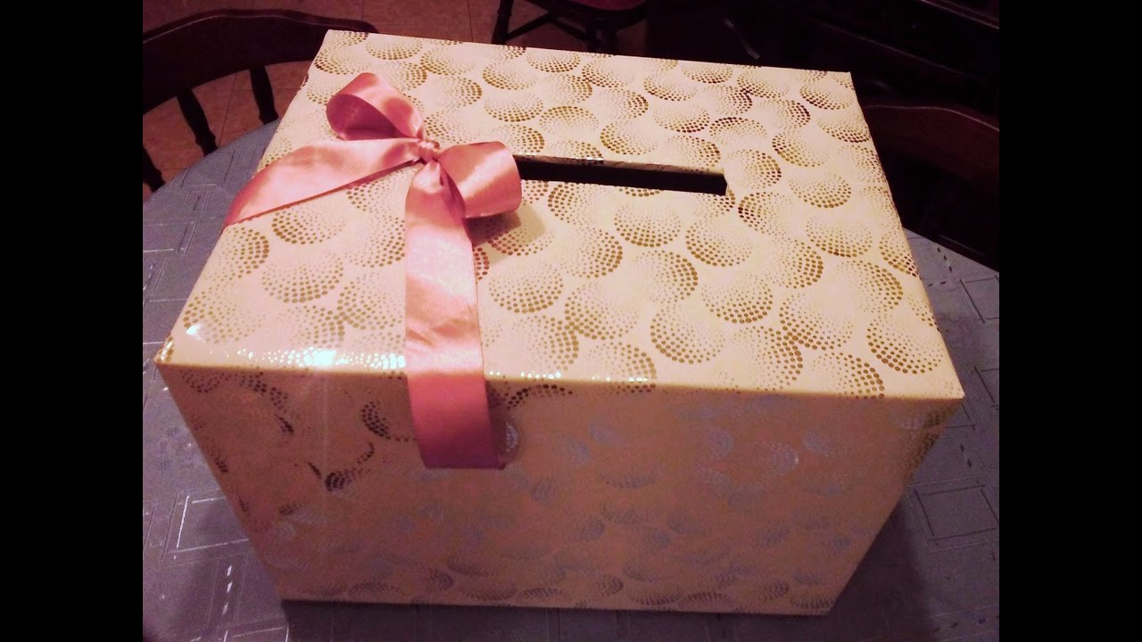 Diy How Can I Make A Wedding Gift Card Box