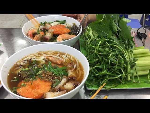 Tô bún mắm Nam Bộ to nhất, đắt nhất ở Sài Gòn
