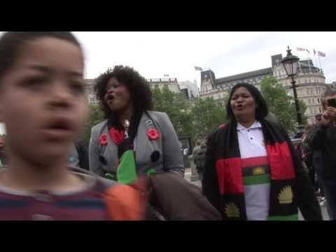Biafran London rally 2016