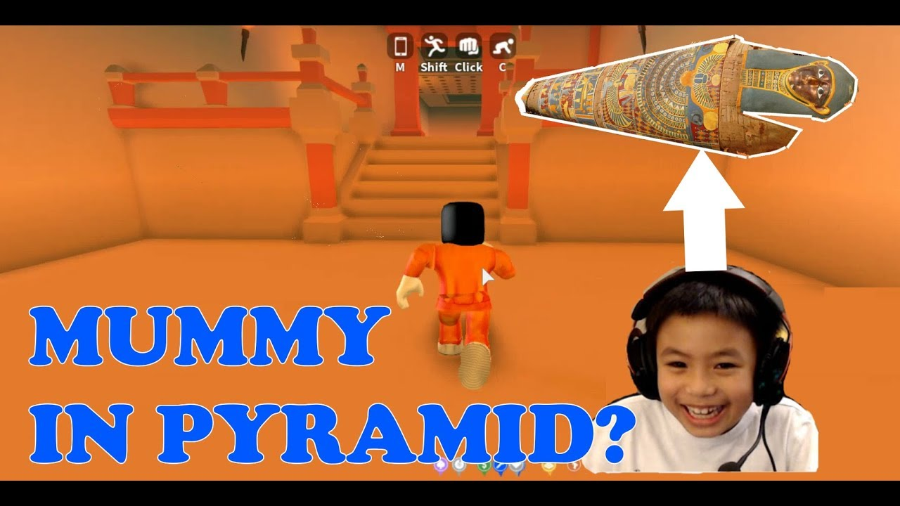 The All New Pyramid Heist In Roblox Mad City Lets Get Some Mummy Lets Play With Ben -
