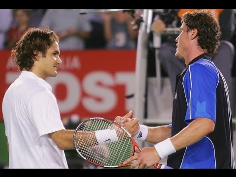 Marat Safin VS Roger Federer Highlight 2005 AO SF(Part II)