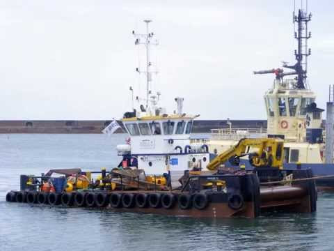 Barges and Tugs