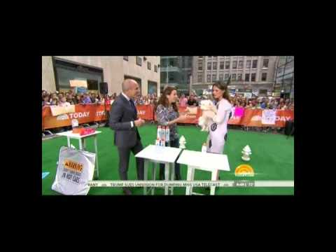Andrea Arden  Pets Sunscreen  NBC TV  July 1 2015 Today