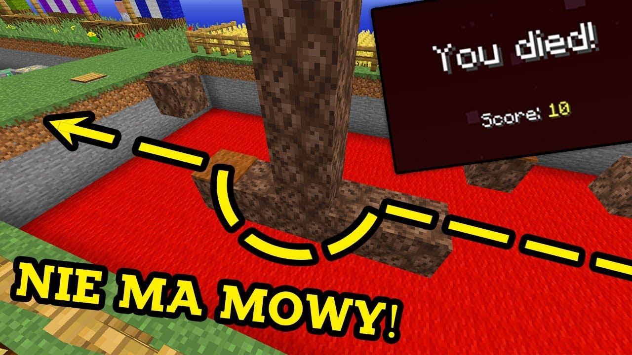 ALE PRZECIEŻ TEGO NIE DA SIĘ PRZESKOCZYĆ! - Minecraft: Mapy od Widzów
