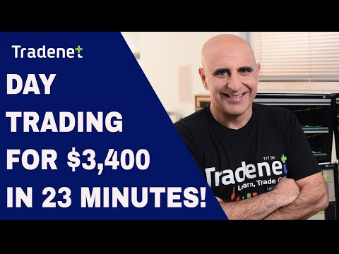 Day Trading for $3,500 in 23 Minutes!