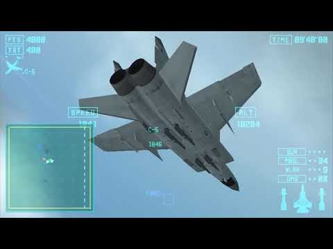 Lets Play Ace Combat X - Mission 4B - False Target