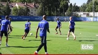 SV98 vor dem Spiel gegen St. Pauli